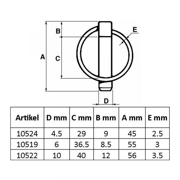 KTS maskiner AMA ringsprint tillbehör sprintar