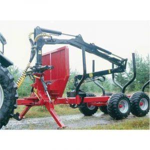 KTS maskiner kts huggarvagn KTS8500+KTSK640